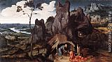 Joachim Patenier St Jerome in the Desert painting