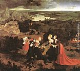 Joachim Patenier Temptation of St Anthony painting