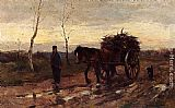 Johan Frederik Cornelis Scherrewitz Returning Home painting
