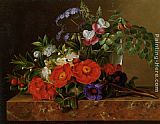 Johan Laurentz Jensen Still life with roses painting