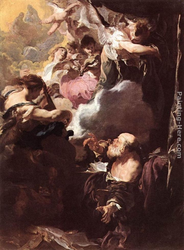 Johann Liss The Ecstasy of St Paul