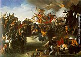 Johann Peter Krafft The Attack of Zrinyi painting