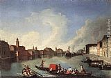 Johann Richter View of the Giudecca Canal painting