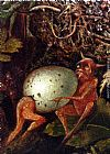 John Anster Fitzgerald Fairies In A Bird's Nest (detail 2) painting