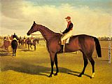 John Frederick Herring Snr Don John, The Winner of the 1838 St. Leger with William Scott Up painting