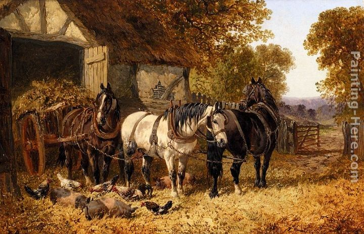 John Frederick Herring, Jnr The Hay Cart