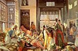 John Frederick Lewis Intercepted Correspondence painting