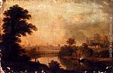 John Glover A View Of Ripon Cathedral From Across The River Ure painting