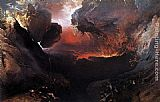 John Martin Great Day of His Wrath painting