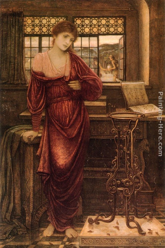 John Melhuish Strudwick Isabella and the Pot of Basil