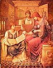John Melhuish Strudwick The Music of a Bygone Age painting