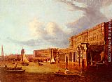 John Paul Somerset House And The Adelphi From The River Thames painting