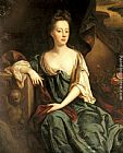 John Riley Portrait Of Anne Sherard, Lady Brownlow (1659-1721) painting