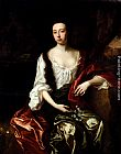 John Riley Portrait Of Thomas Brotherton Wife, Margaret painting