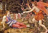 John Roddam Spencer Stanhope Love and the Maiden painting