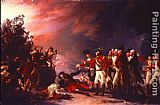 John Trumbull The Sortie Made by the Garrison of Gibraltar painting