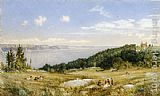 John William Hill The Palisades painting