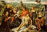 Joos van Cleve Altarpiece of the Lamentation (central) painting