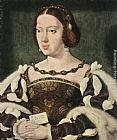 eze cote dazur france Paintings - Portrait of Eleonora, Queen of France