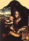 Joos van Cleve Virgin and Child painting