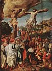 Jorg Breu the Elder Crucifixion painting