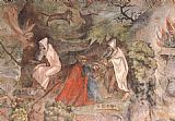Jorg Ratgeb Scenes from the Life of Prophet Elijah painting