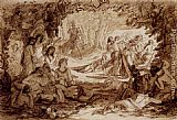 Joseph Noel Paton Cymocles Discovered By Atis In The Bowre Of Blisse, Spencer's Fairie Queene, BookII, Chapter V painting