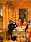 Juan De Flandes The Marriage Feast at Cana painting
