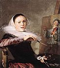 Judith Leyster Self-Portrait painting