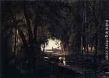 Karl Blechen The Woods near Spandau painting