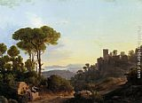 Karoly Marko A Classical Landscape painting