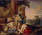 Laurent De La Hire Infancy of Achilles painting