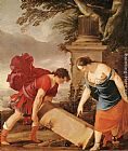 Laurent De La Hire Theseus and Aethra painting