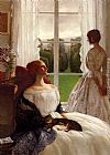 Leonard Campbell Taylor The Rain It Raineth Every Day painting