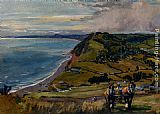 Lionel Edwards Along The Dorset Coast painting