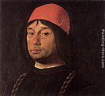 Lorenzo Costa Portrait of Giovanni Bentivoglio painting