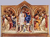 Lorenzo Monaco Coronation of the Virgin and Adoring Saints painting