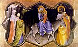 Lorenzo Monaco The Flight into Egypt painting