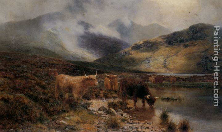 Louis Bosworth Hurt By an Argyllshire Loch between the Showers