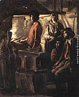 Louis Le Nain Blacksmith at His Forge painting