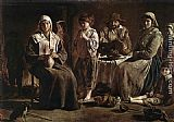 Louis Le Nain Peasant Family painting