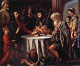 Louis Le Nain The Supper at Emmaus painting