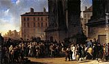 Louis-Leopold Boilly Departure of the Conscripts in 1807 painting