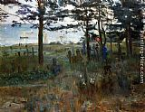 Lovis Corinth Fishermen's Cemetery at Nidden painting