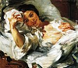 Lovis Corinth Morning Sun painting