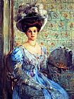 Lovis Corinth Portrait of Eleonore von Wilke, Countess Finkh painting