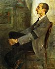 Lovis Corinth Portrait of the Painter Walter Leistilow painting