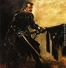 Lovis Corinth Rudolph Rittner as Florian Geyer, First Version painting