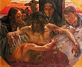 Lovis Corinth The Deposition painting