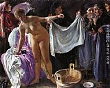 Lovis Corinth Witches painting